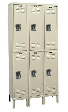u3226-2-premium-double-tier-3-wide-lockers-unassembled-12-w-x-12-d-x-30-h
