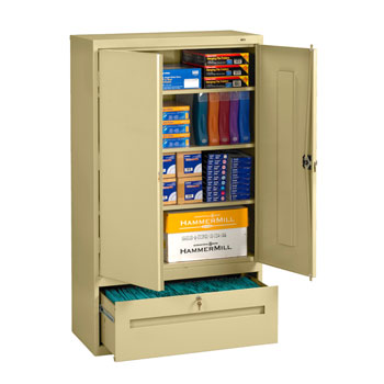 welded-storage-cabinet-with-file-drawer-by-tennsco