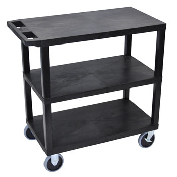 ec222hd-b-e-series-flat-shelf-cart-heavy-duty-w-3-shelves-black