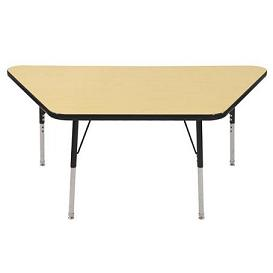elr-14119-s-activity-table-w-nylon-glides-30-x-60-trapezoid