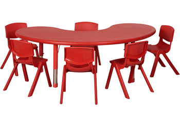 elr14407p6x12-six-12-plastic-resin-chairs-with-one-plastic-resin-kidney-table