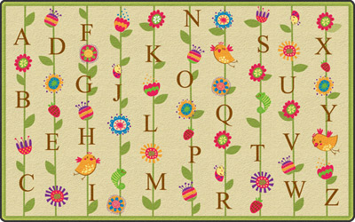 fe274-32a-blooming-alphabet-carpet-rectangle-6-x-84-tan