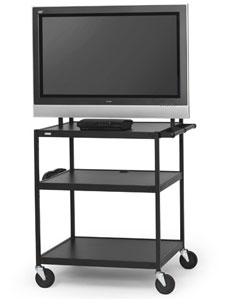 fp60ul-e5bk-flat-panel-cart-w-electrical-strip-52-monitor