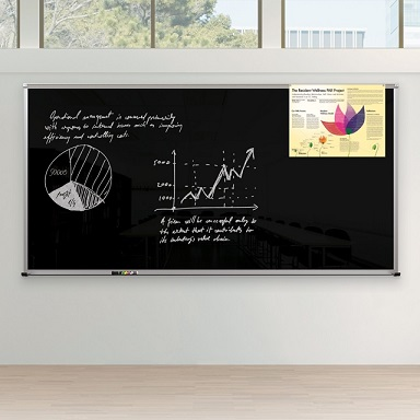 14803-framed-magnetic-glass-dry-erase-whiteboard-3-x-4-gloss-black