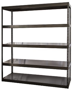 hcr962496-5me-high-capacity-waterfall-deck-shelving