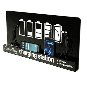 Kwikboost Wall Mount Charging Station W Preset Graphic
