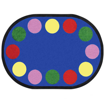 1430cc-54-x-78-oval-lots-of-dots-carpet