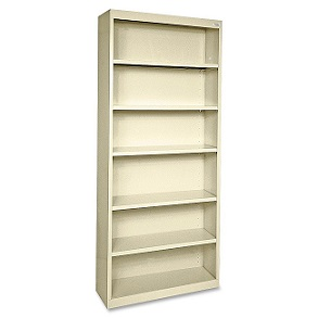llr41292-fortress-series-metal-bookcase-w-6-shelves