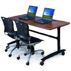 pkg34552290067-two-task-chairs-w-one-lumina-flip-top-table-72-x-24