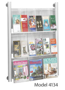 Click here for more Luxe Magazine Racks by Safco Products by Worthington