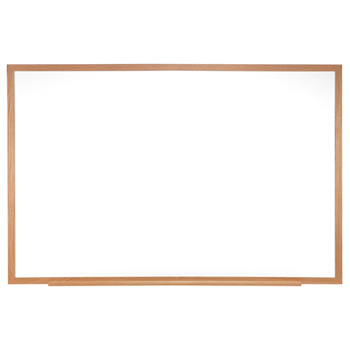 m1w-412-4-traditional-porcelain-magnetic-whiteboard-wood-frame-4-x-12