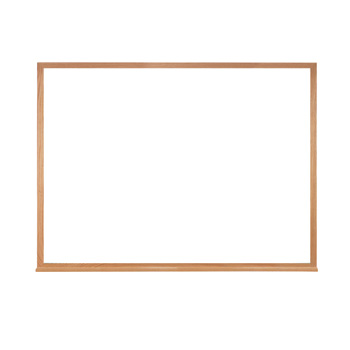 m2w-23-1-non-magnetic-whiteboard-wood-frame-2-x-3