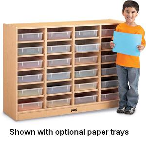0624jc011-maplewave-24-paper-tray-cubbie-wo-trays