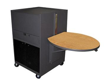 zmma3030-media-center-cart-w-flat-top-acrylic-doors