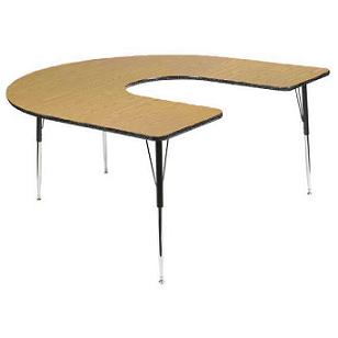 mdfhs6660-mdf-series-activity-table-w-herculene-edge-60-x-66-horseshoe