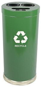 15rt-metal-recycling-container-3-openings-15-diameter