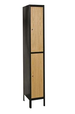 uw1288-2a-mew-metal-wood-hybrid-double-tier-1-wide-locker-assembled-12-w-x-18-d-x-36-h