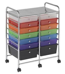 elr-20101-mobile-organizer-cart-14-drawer