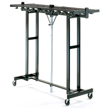mr611k-72wx25dx60h-120-capacityhook-style-black-portable-folding-rack