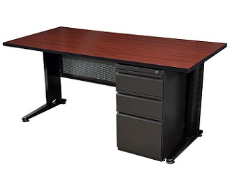 msp6624-fusion-single-pedestal-desk