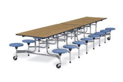 mts15271216-12x30x27h-15h-stools-16-seats-med-oak-top-chrome-frame-mobile-table
