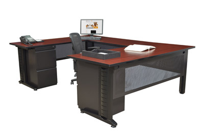mud660342-fusion-double-pedestal-u-desk-66-w