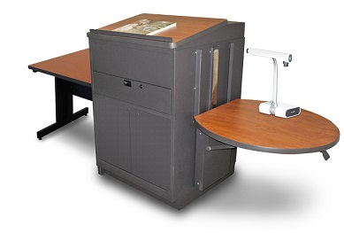 mvltrm3630-vizion-media-center-w-lectern-36-w-rectangle-table-steel-doors