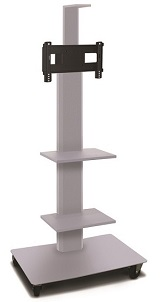 mvpfs3280-2c-vizion-mobile-flat-panel-tv-stand-w-two-equipment-camera-shelf