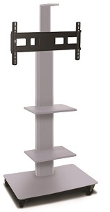 mvpfs6065-2c-vizion-mobile-flat-panel-tv-stand-w-two-equipment-camera-shelf