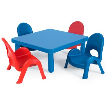 All Myvalue Set 4 Preschool Table & Chair Set By Angeles Options ...