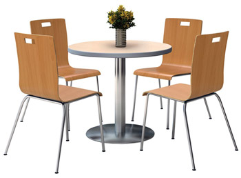 silver-base-cafe-table-with-four-jive-stack-chairs-by-kfi