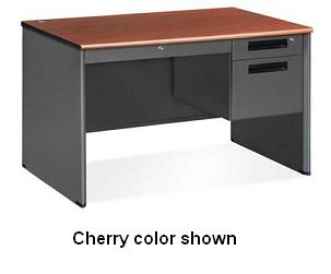 77348-single-pedestal-panel-end-desk-30-x-48