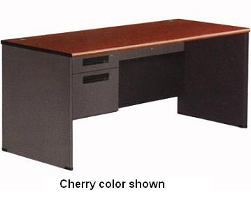 77366-single-pedestal-panel-end-desk-30-x-67