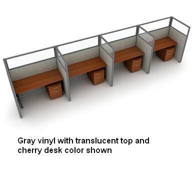 t1x46360p-rize-series-privacy-station-1x4-configuration-w-translucent-top-63-h-panel-5-w-desk