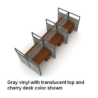 t2x36360p-rize-series-privacy-station-2x3-configuration-w-translucent-top-63-h-panel-5-w-desk