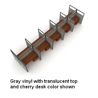 t2x56360p-rize-series-privacy-station-2x5-configuration-w-translucent-top-63-h-panel-5-w-desk