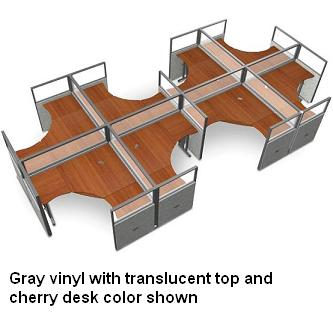 r2x46372p-rize-series-cubicle-2x4-configuration-w-translucent-top-63-h-panel-6-w-desk
