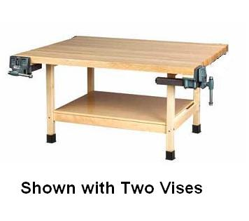 ww2-1v-wooden-two-station-student-workbench-w-1-vise
