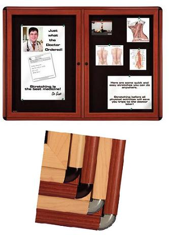 ovation-wood-look-enclosed-bulletin-boards-by-ghent