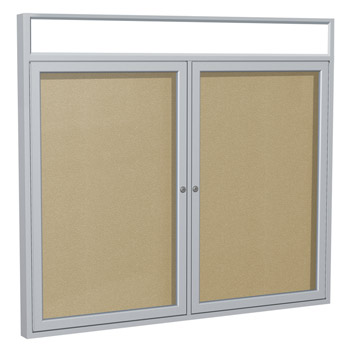 pak7-48hx60h-two-door-satin-aluminum-frame-enclosed-headliner-cork-bulletin-board