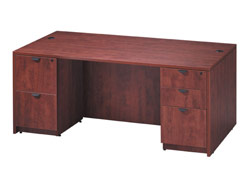double-full-pedestal-office-desk