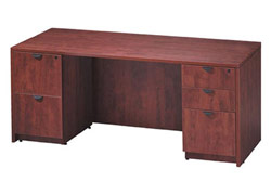 kneespace-credenza-with-double-pedestal