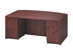 ofd-7141fp-bow-front-double-full-pedestal-office-desk