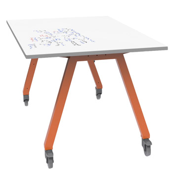 Planner Studio Tables With Dry Erase Tops By Smith System