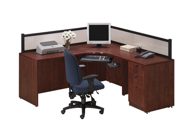 Ndi Office Furniture Borders Series Reception Desk Plb13 Reception Stations Worthington Direct