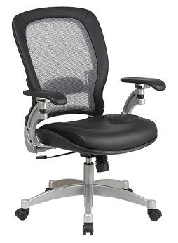 3680-professional-air-grid-back-chair-w-leather-seat