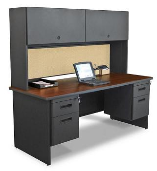 prnt5-pronto-double-pedestal-desk-w-flipper-door-cabinet-30-x-72