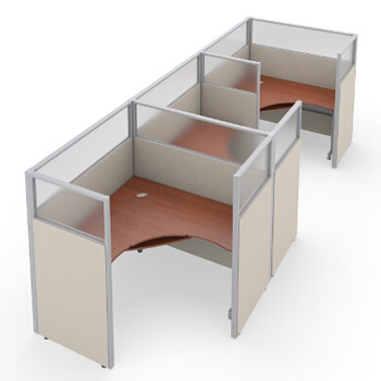 r1x36360p-rize-series-cubicle-1x3-configuration-w-translucent-top-63-h-panel-5-w-desk
