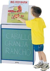 0542jcww-rainbow-accents-big-book-easel-chalkboard