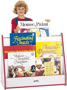 3503jcww-rainbow-accents-big-book-pick-a-book-stand-w-casters